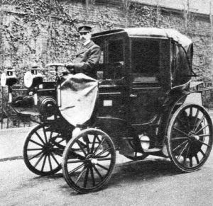 The First Hackney Carriage Licensed in the UK.